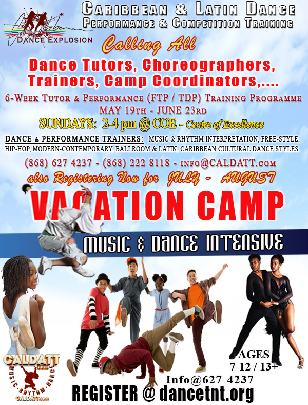 CALDATT and Dance Explosion Dance Workshops & Classes