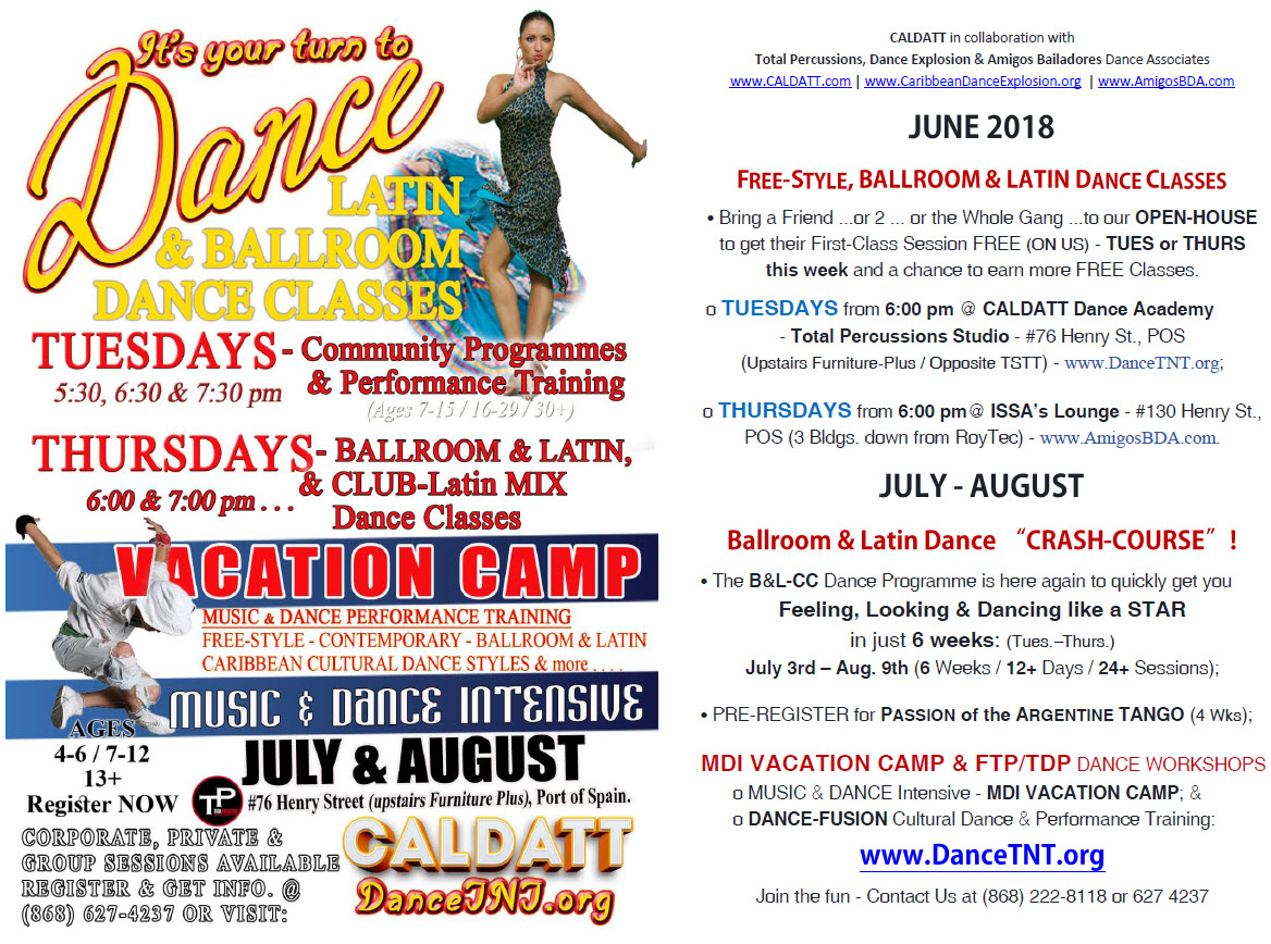 Music & Dance Camp and Workshops